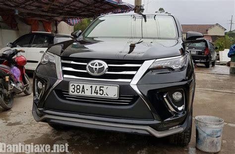 Kit Toyota Fortuner Ativus ngắm toyota fortuner 2017 độ kit phong tr 224 o độ mới cho mẫu suv 7 chỗ danhgiaxe