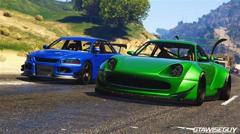 tuner cars gta 5 pfister ruff weld comet widebody tuners and outlaws