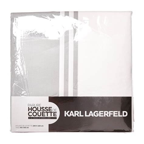 Karl Lagerfelds Own Brand Is Set To Expand by Karl Lagerfeld Bettbezug 118 F 228 Den Cm 178 Beidseitig
