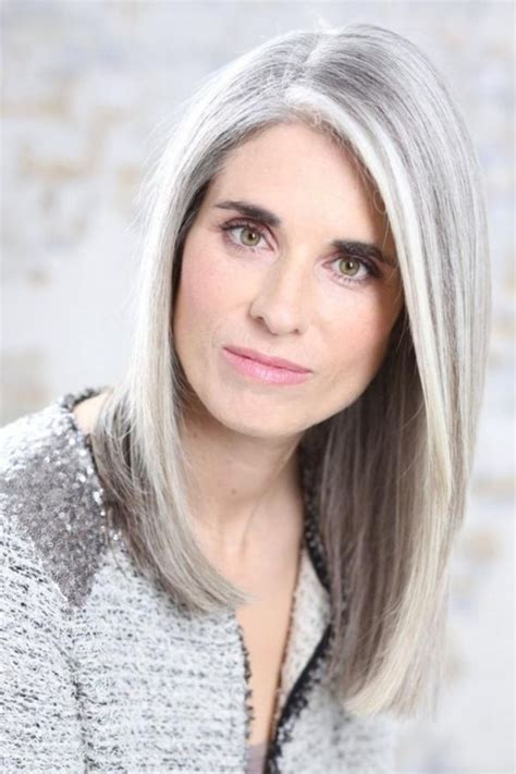 grey bob for old women short bob wigs for white women 45 natural grey hairstyles for women of every age