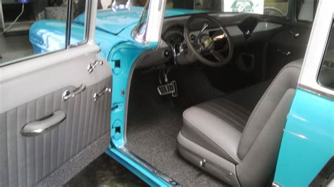 franks hot rod upholstery 1955 chevy bel air custom interiors decoratingspecial com
