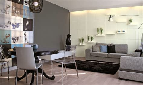 decorar paredes gris claro 10 ideas de decoraci 243 n para salas en gris