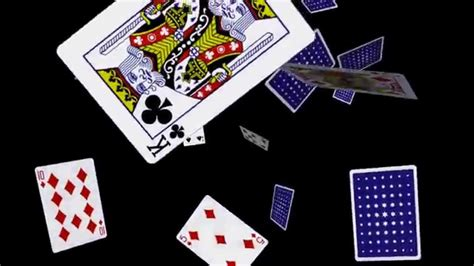 how to make a card fly around you cards falling loop 3