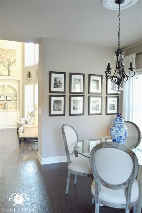 breakfast nook tour and the winner of the great chair affair paint colors sherwin williams
