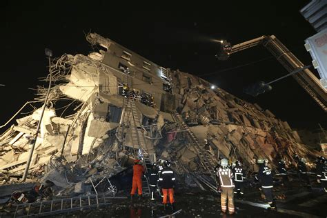Taiwan Search Hundreds Rescued After Quake Strikes Taiwan Pittsburgh Post Gazette