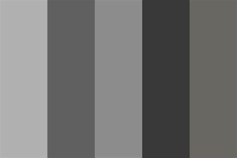 grey color scheme city of gray color palette