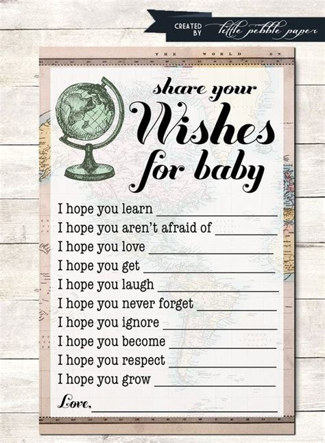 Baby Shower And Activities by Wishes For Baby Shower Printable Welcome To The