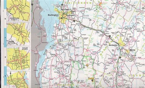 road map of vt vermont maps state maps city maps county maps and more