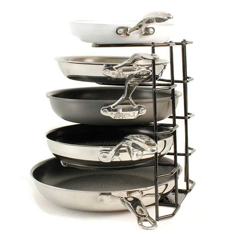 Rubbermaid Organizer Rack by Rubbermaid Pan Organizer Cookware Rack Black Home Design