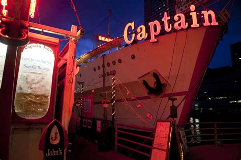 boat lettering captain john captain john s restaurant ordered to stay put after being