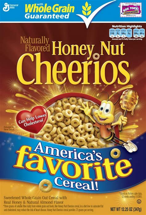 cheerios 4 delicious whole grains 10 most delicious and popular cereals for breakfast