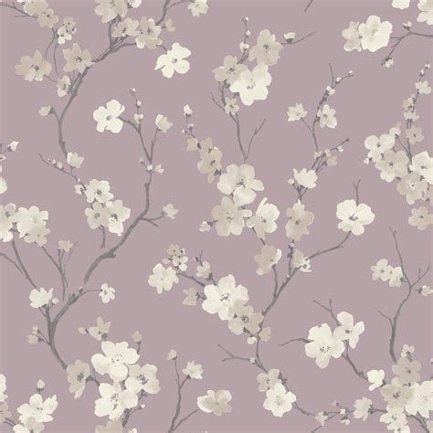 glitter wallpaper b and q arthouse sophie conran blossom wisteria floral glitter