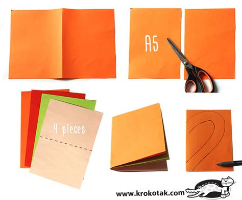 Make A Paper Book - krokotak how to make a paper book