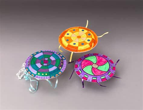 flying crafts for flying saucer fling craft crayola
