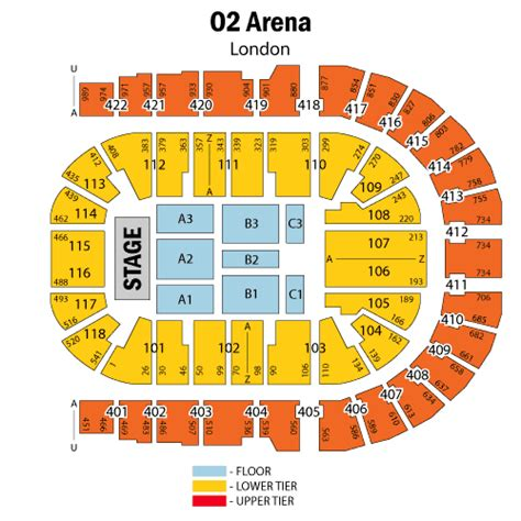 o2 arena floor seating plan roger waters may 12 tickets greenwich o2 arena london