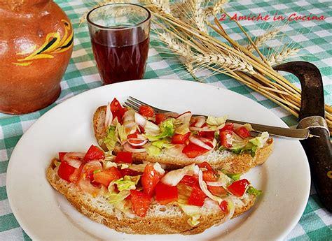 ricette cucina umbra cucina regionale umbra panzanella 2 amiche in cucina