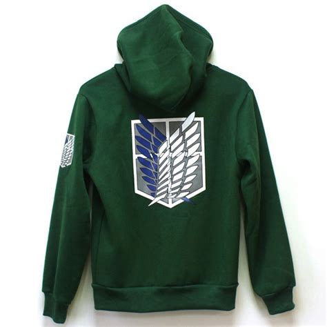 Sweater Jaket Attack On Titan Snk Sporty All Edition shingeki no kyojin scouting legion hoodie attack on titan cloak sweater ebay