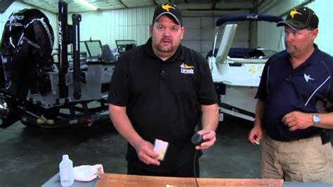 how to mount a transducer on a fiberglass boat how to install or glass in a humminbird transducer in a