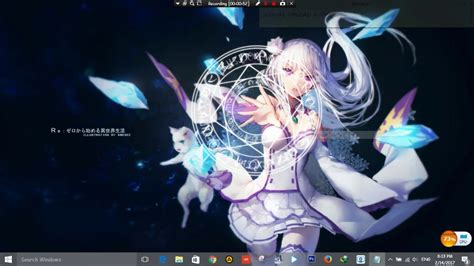 wallpaper engine steam is unavailable wallpaper engine non steam emilia re zero bgm preview