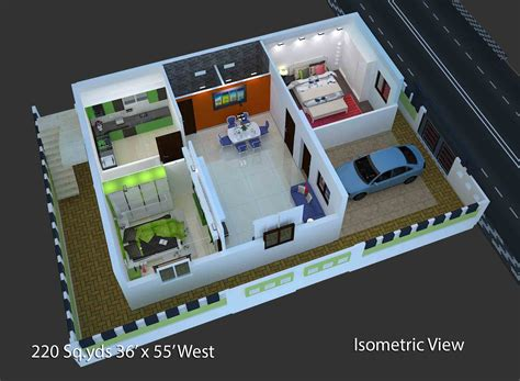 west facing house designs plan of 2bhk house home design and style