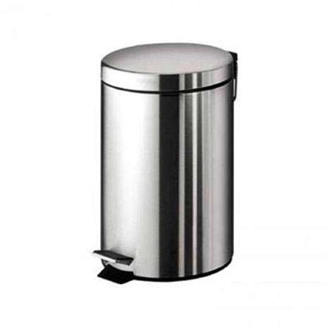 bathroom bin waste bins bathroom pedal bin 3 litre chrome