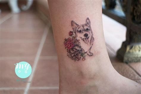 corgi tattoo designs best 25 corgi ideas on tattoos