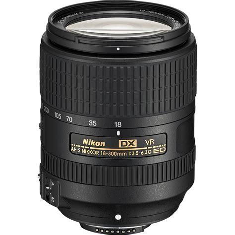 Nikon Dx Vr nikon af s dx nikkor 18 300mm f 3 5 6 3g ed vr lens 2216 b h