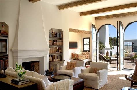 seaside home interiors spanish colonial beach house in santa monica idesignarch