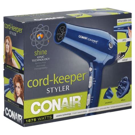 Conair Hair Dryer Kmart upc 074108062758 conair cord keeper styler 1875 watts