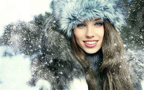 wallpaper girl winter happier christmas snow girl wallpaper 12 holiday