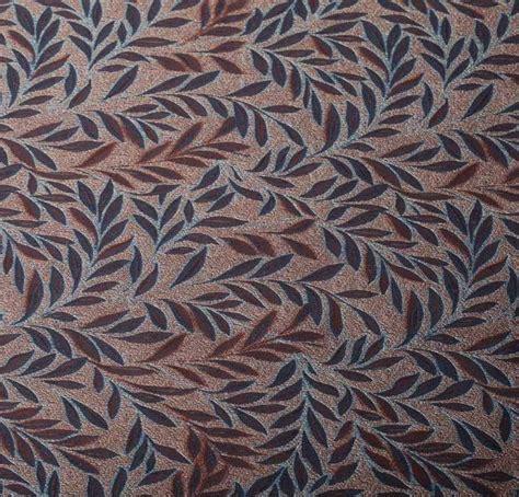 a review of jacquard fabric 100 silk jacquard fabric blue leaves fabric