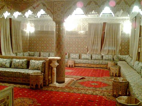 traditional moroccan living room for the home