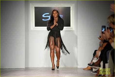 Catwalk To Carpet Serena Williams by Gigi Hadid Supports Serena Williams At Nyfw With