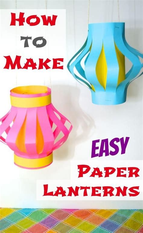 How To Make Paper Lanterns Diy - 229 best images about diy lanterns on diy
