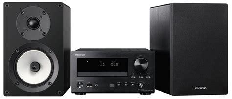 casse con ingresso ottico onkyo caleidio cs 555 b s sistema micro audiophile