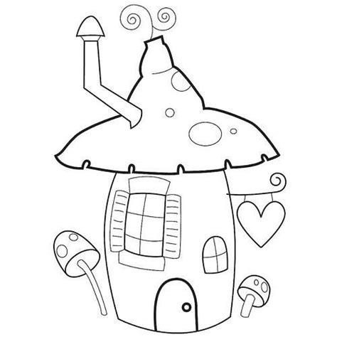 coloring pages of fairy houses 4870e52cb09f4612080abcc8d6dc307c jpg 500 215 500 pixels
