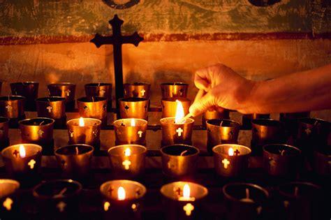 mexican church candles