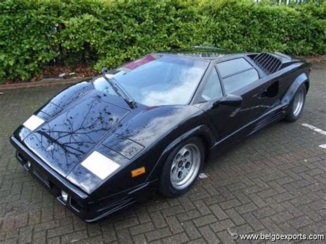 1990 Lamborghini Countach For Sale Featured Cars For Sale 1990 Lamborghini Countach 25th