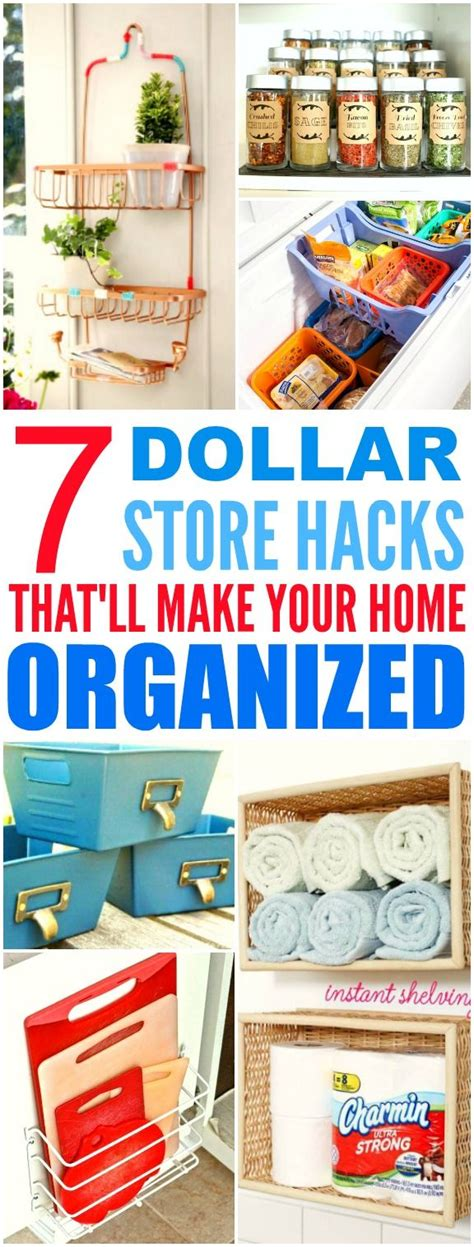 home organization hacks 7904 best dollar store crafts images on pinterest craft