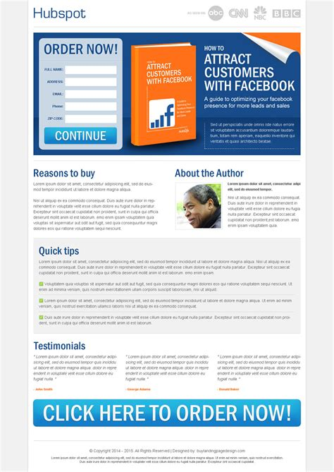 ebook landing page template best landing page designs for selling your ebook