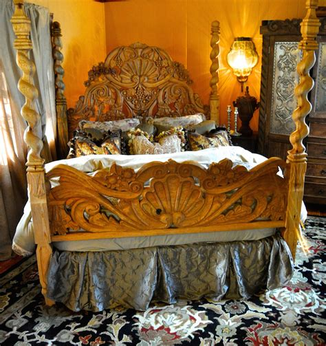 make the bed in spanish our stunning hacienda wood carved bed would make the