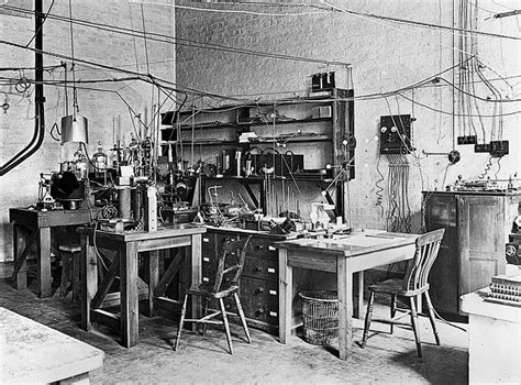 Table Set Up File Sir Ernest Rutherfords Laboratory Early 20th Century
