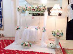 design pelamin aqiqah pelamin buaian berendoi theme simple and sweet buaian