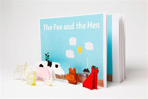 Origami Storytelling - storytelling and origami the fox and the hen on behance
