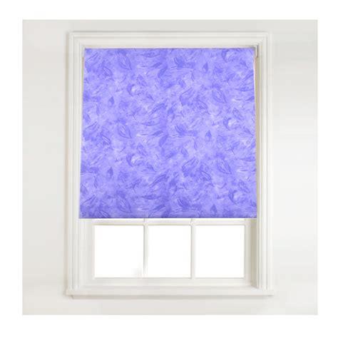 cloud pattern roller blind sunflex lilac purple roller window blind leaf feather