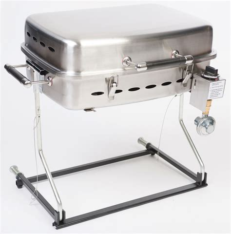Propane Pit Grill Faulkner Bbq Grill Rv Mount Or Freestanding Propane