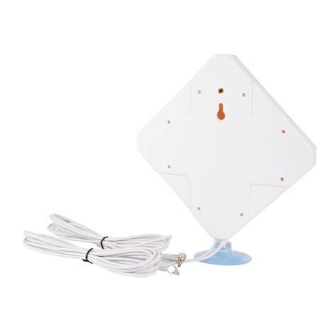 4g Lte Signal Booster Antena 35dbi High Gain Ponsel Lifier Wifi crc9 4g lte antenna dual mimo 35dbi high gain network