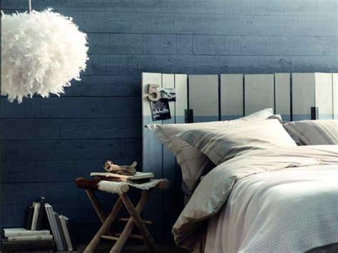 Chambre Bébé Bleu Et Gris by Peinture Chambre Bleu Et Tete De Lit En Nuance Gris Aussi