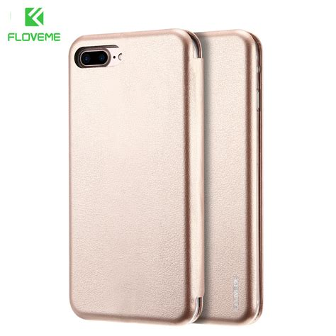 Hardcase Design Floveme For Iphone 7 Plus Free Stand Holder floveme luxury flip leather for iphone 7 7 plus