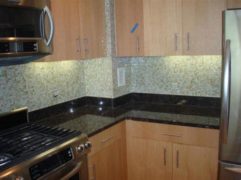kitchen with glass tile backsplash glass tile backsplash ideas for kitchens and bathroom